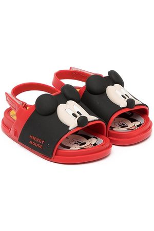 Mini Melissa Sportschoenen - Mickey-embellished sandals