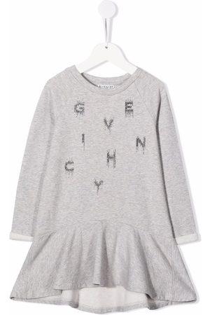 Givenchy Meisjes Casual jurken - Logo-print fleece dress