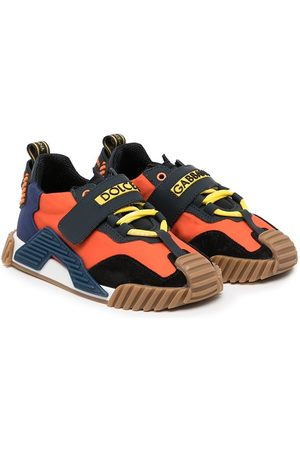 Dolce & Gabbana Low-top colour-block trainers