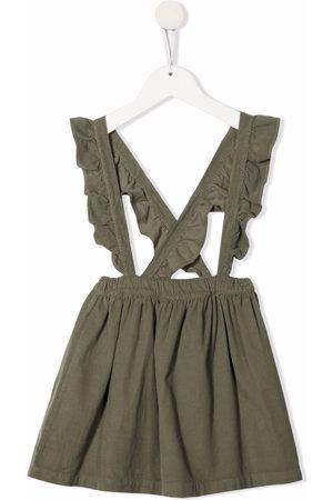 Babe And Tess Ruffle-trim dress