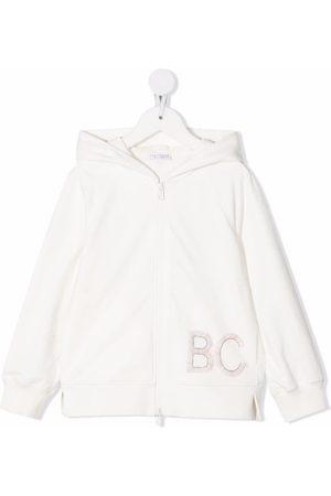Brunello Cucinelli Meisjes Hoodies - BC' logo hoodie