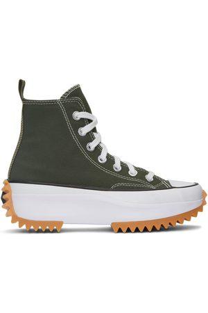 Converse Green Run Star Hike Hi Sneakers