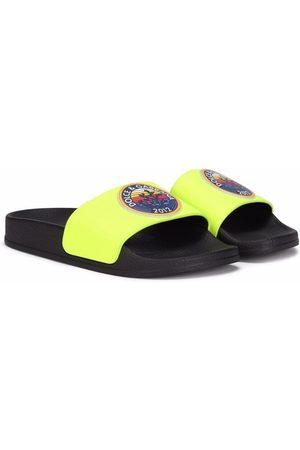 Dolce & Gabbana Jongens Slippers - Logo stamp slippers