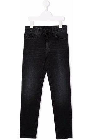 Dondup Jongens Slim - Mid-rise slim-cut jeans