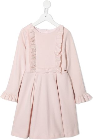 PATACHOU Ruffle-trim cotton dress