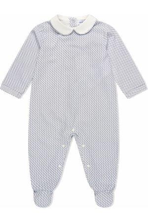 Emporio Armani Pyjama's - All-over logo print babygrow
