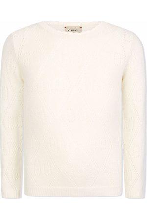 Gucci Wool GG-pattern jumper