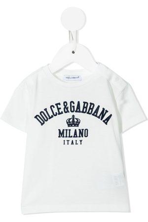 Dolce & Gabbana Logo-print cotton T-shirt