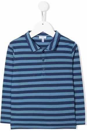 KNOT Murugan striped longsleeved polo shirt
