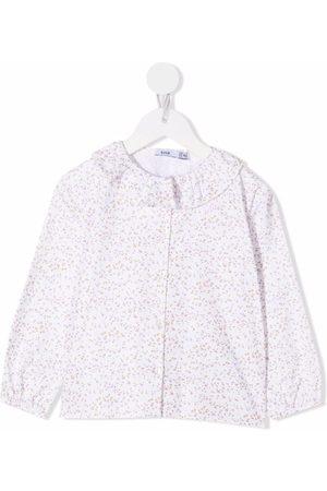 KNOT Soft flowers cotton blouse