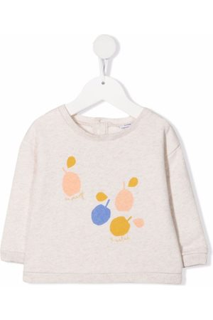 KNOT Sweaters - Abstract print jumper