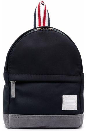 Thom Browne Jongens Rugzakken - Small stripe-print backpack