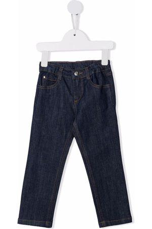 KNOT Meisjes Straight - Straight-leg cotton jeans