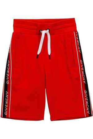 Givenchy Side Logo Shorts - RED 12+ YEARS