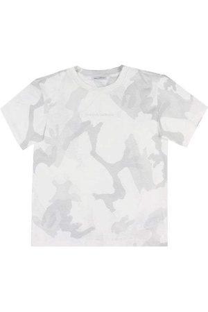 Dolce & Gabbana Kids Camouflage T-Shirt Grey - CAMOUFLAGE 10 YEARS