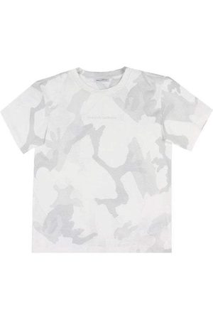 Dolce & Gabbana Kids Camouflage T-Shirt Grey - CAMOUFLAGE 8 YEARS