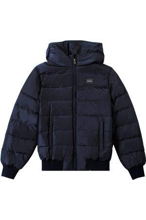 Dolce & Gabbana Kids Padded Down Jacket Navy - NAVY 10 YEARS