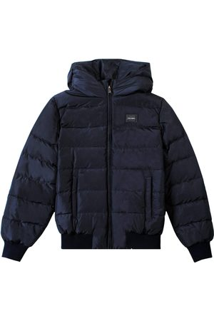 Dolce & Gabbana Kids Padded Down Jacket Navy - NAVY 8 YEARS