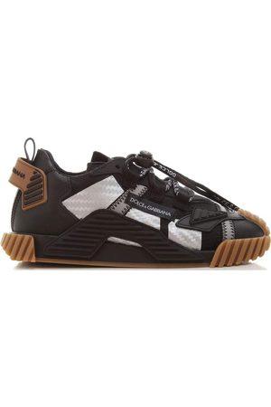 Dolce & Gabbana Kids Silver Reflectors Trainers Black - BLACK 30