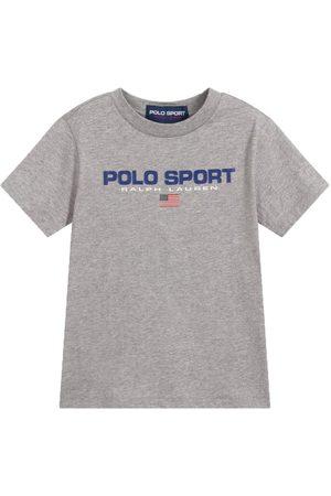 Ralph Lauren Jongens Sportshirts - Polo Sport T-Shirt Grey - GREY S (8 YEARS)