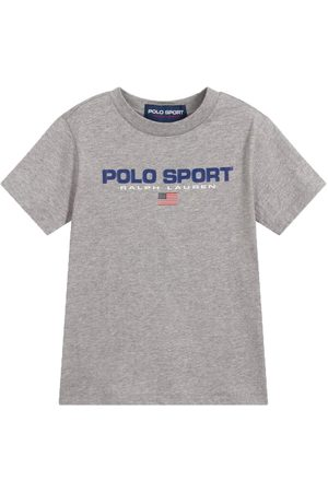 Ralph Lauren Polo Sport T-Shirt Grey - GREY 4 YEARS