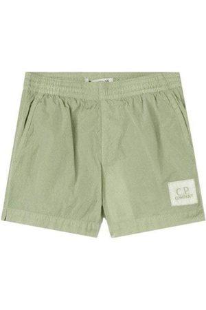 C.P. Company Jongens Shorts - C.p Company Boys Logo Shorts Green - 12Y GREEN