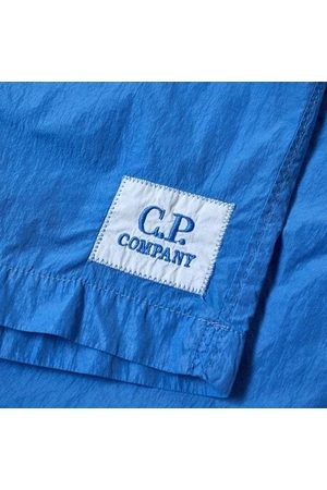 C.P. Company C.p Company Boys Logo Shorts Blue - 10Y BLUE