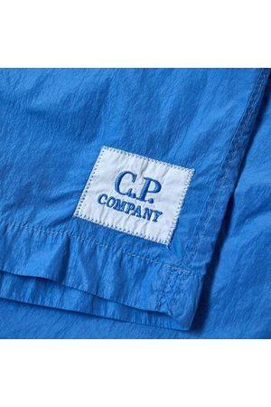 C.P. Company Jongens Shorts - C.p Company Boys Logo Shorts Blue - 4Y BLUE