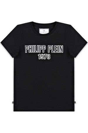 Philipp Plein Logo T-Shirt - BLACK 14 YEARS