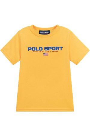 Ralph Lauren Polo Sport T-Shirt Yellow - YELLOW 4 YEARS