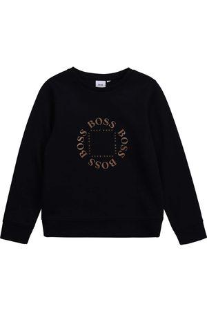 HUGO BOSS Jongens Sweaters - Boss Logo Sweater - NAVY 16 YEARS