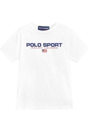 Ralph Lauren Jongens Sportshirts - Polo Sport T-Shirt White - WHITE 4 YEARS