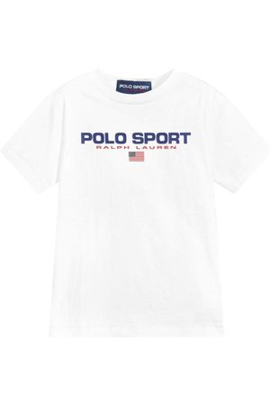 Ralph Lauren Polo Sport T-Shirt White - WHITE M (10-12 YEARS)
