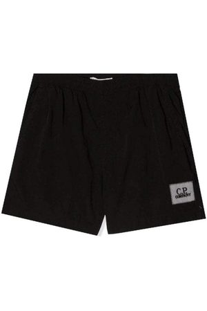 C.P. Company C.p Company Boys Logo Shorts Black - 14Y BLACK
