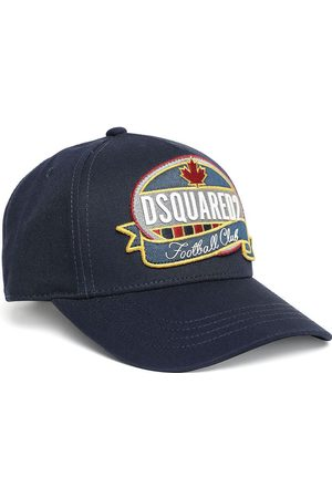 Dsquared2 Kids Logo Embroidered Cap Navy - III NAVY