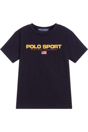 Ralph Lauren Polo Sport T-Shirt Navy - NAVY M (10-12 YEARS)