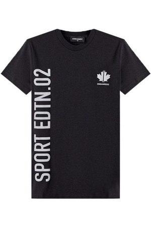 Dsquared2 Kids Sport Edition T-Shirt Black - BLACK 14 YEARS