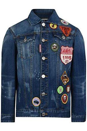 Dsquared2 Kids Denim Jacket Blue - BLUE 10 YEARS