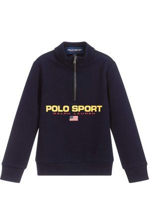 Ralph Lauren Kids Polo Sport Zip-Up Top - NAVY S (8 YEARS)