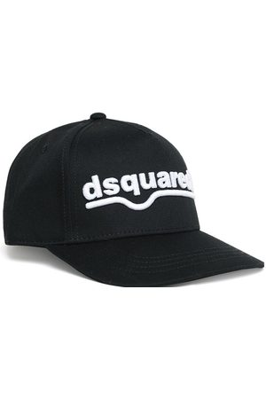 Dsquared2 Kids Logo Embroidered Cap Black - III BLACK
