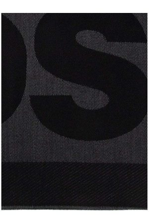 Dsquared2 Men's Wool Scarf Black - BLACK ONE SIZE