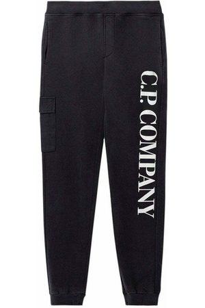C.P. Company C.P Company Boys Side Logo Joggers Black - 8Y NAVY