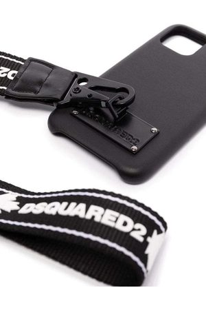 Dsquared2 IPhone 11 Pro Cover With Strap Black - BLACK ONE SIZE