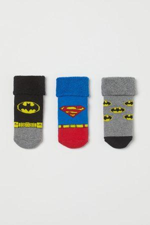 H&M 3 paar badstof sokken