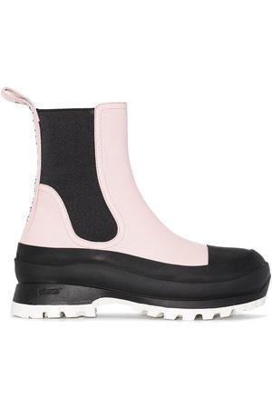 Stella McCartney Dames Enkellaarzen - Trace two-tone ankle boots