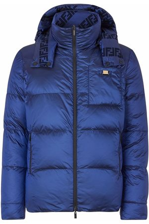 Fendi Heren Donsjassen - Reversible padded jacket