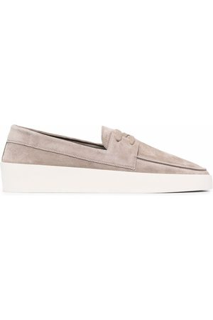 FEAR OF GOD Almond-toe lace-detail loafers