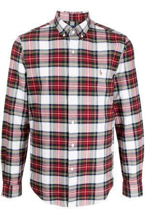 Polo Ralph Lauren Tartan-print button-down shirt