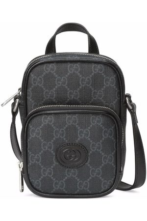 Gucci Logo-patch zip-fastening backpack