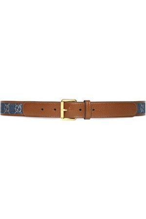 Gucci GG-canvas buckle-fastening belt